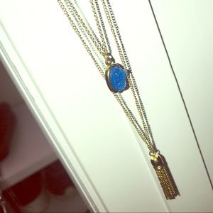 Three tier Gold Necklace